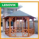 Лесовик - изделия из дерева, ТМ Lesovik. Услуги > Благоустройство территории, Запорожье