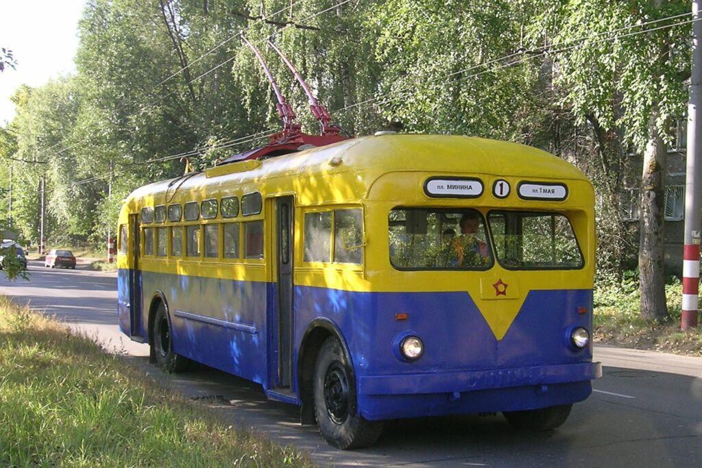 троллейбус запорожье