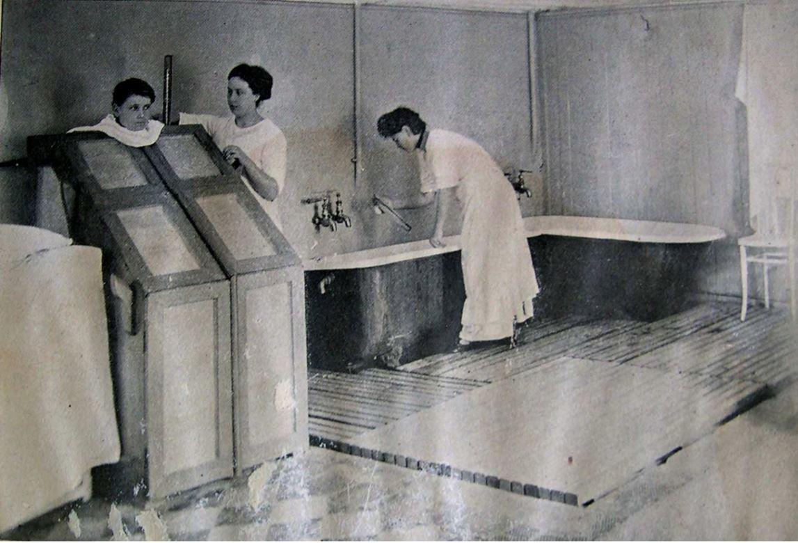 Женское гидропатическое и массажное отделение, Запорожье